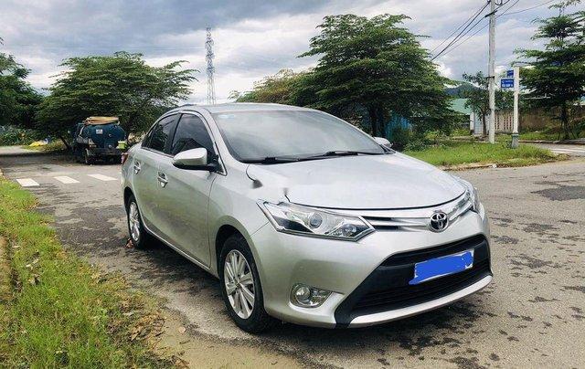 Bán Toyota Vios sản xuất năm 2015, màu bạc số tự động2
