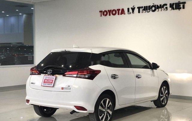 Bán xe Toyota Yaris đời 2019, màu trắng, 620tr3