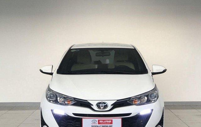 Bán xe Toyota Yaris đời 2019, màu trắng, 620tr0
