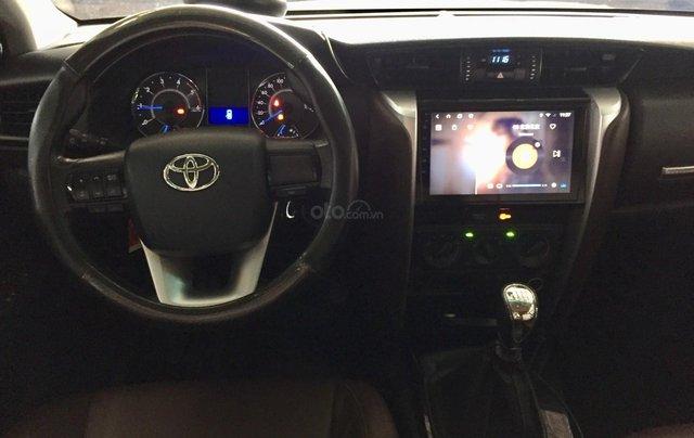 Cần banToyota Fortuner 2.4G MT 2018, màu đen gia đình, đi 63.000 - xe cũ chính hãng Toyota Sure9