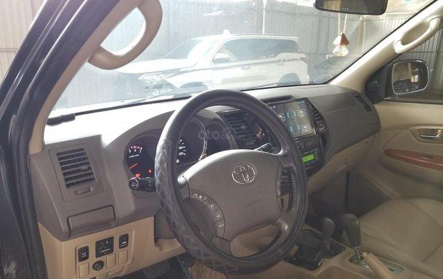 Cần bán xe Toyota Fortuner 2.7V 4x4AT 2010 màu xám gia đình HCM đi 175k - xe cũ chính hãng Toyota Sure5