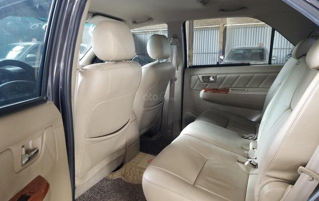 Cần bán xe Toyota Fortuner 2.7V 4x4AT 2010 màu xám gia đình HCM đi 175k - xe cũ chính hãng Toyota Sure6