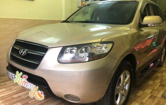 Bán ô tô Hyundai Santa Fe sản xuất năm 2008, màu bạc, nhập khẩu 1