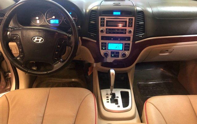 Bán ô tô Hyundai Santa Fe sản xuất năm 2008, màu bạc, nhập khẩu 6