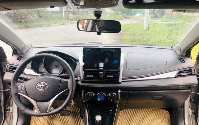 Bán Toyota Vios sản xuất năm 2015, màu bạc số tự động9