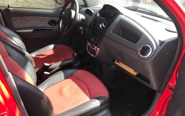 Bán Chevrolet Spark Van sản xuất năm 2016, màu đỏ 9