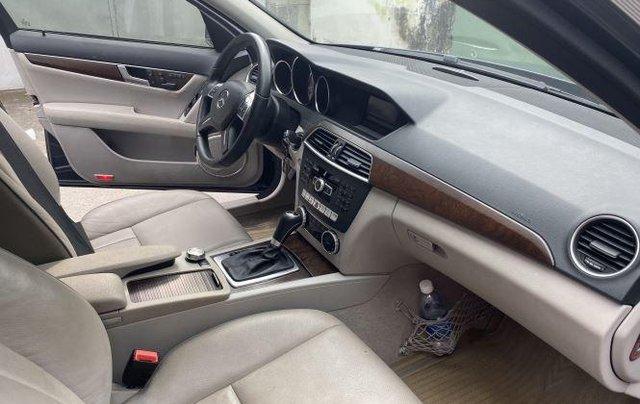 Bán Mercedes C250 AMG 2014, màu xám số tự động, bản full8