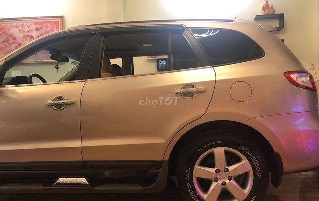 Bán ô tô Hyundai Santa Fe sản xuất năm 2008, màu bạc, nhập khẩu 3