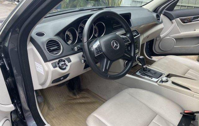 Bán Mercedes C250 AMG 2014, màu xám số tự động, bản full7
