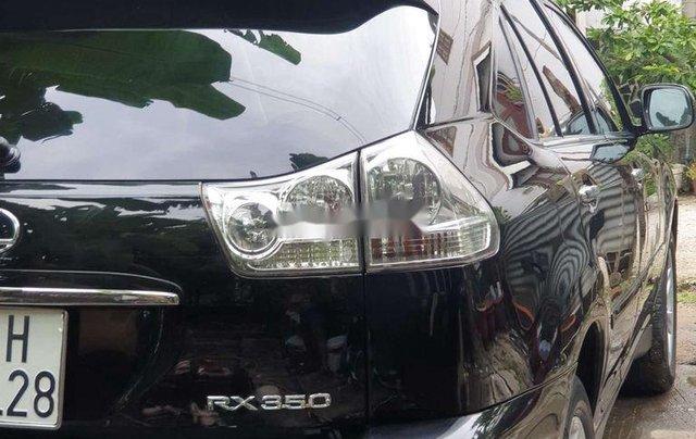 Cần bán gấp Lexus RX 350 sản xuất 2007, màu đen chính chủ, 660 triệu0