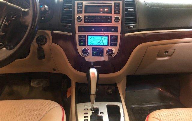 Bán ô tô Hyundai Santa Fe sản xuất năm 2008, màu bạc, nhập khẩu 7