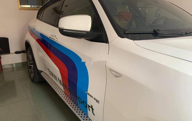 Cần bán gấp BMW X6 đời 2009, màu trắng, xe nhập, xe gia đình1