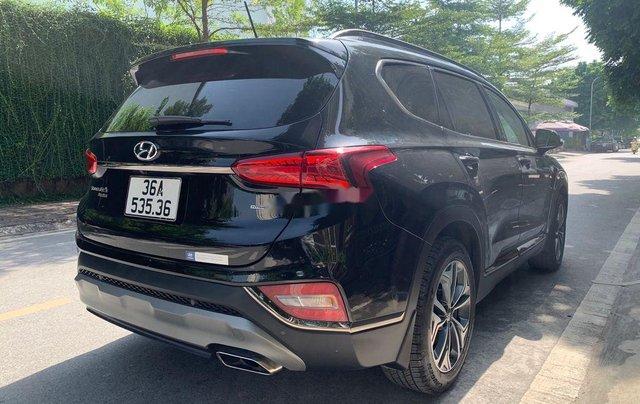 Cần bán lại xe Hyundai Santa Fe 2.4 Preminium đời 2020, màu đen  6