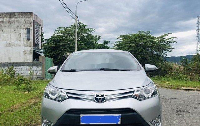 Bán Toyota Vios sản xuất năm 2015, màu bạc số tự động1
