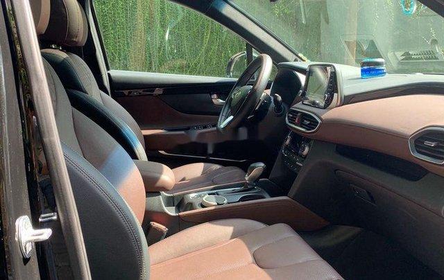 Cần bán lại xe Hyundai Santa Fe 2.4 Preminium đời 2020, màu đen  9