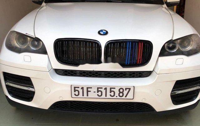 Cần bán gấp BMW X6 đời 2009, màu trắng, xe nhập, xe gia đình4