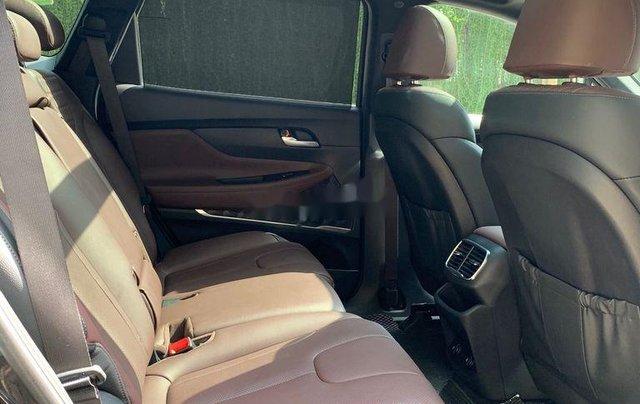 Cần bán lại xe Hyundai Santa Fe 2.4 Preminium đời 2020, màu đen  8