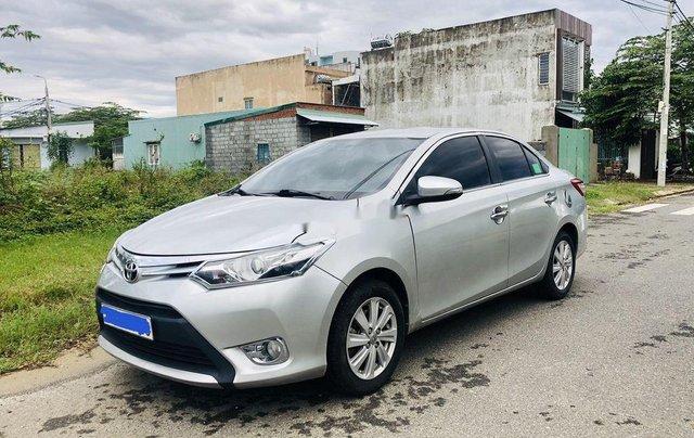 Bán Toyota Vios sản xuất năm 2015, màu bạc số tự động0
