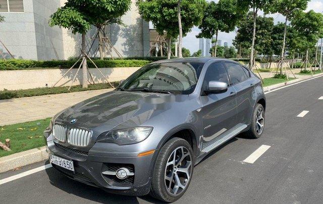 Xe BMW X6 năm 2008, màu xám, giá cạnh tranh6