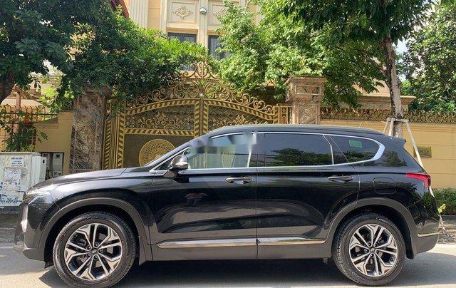 Cần bán lại xe Hyundai Santa Fe 2.4 Preminium đời 2020, màu đen  3