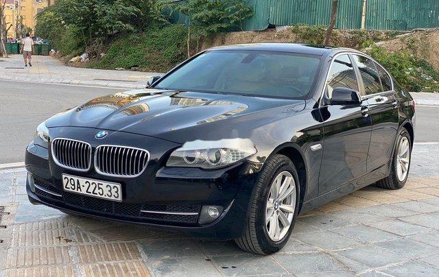 Bán BMW 523i sản xuất 2011, màu đen, nhập khẩu, số tự động0