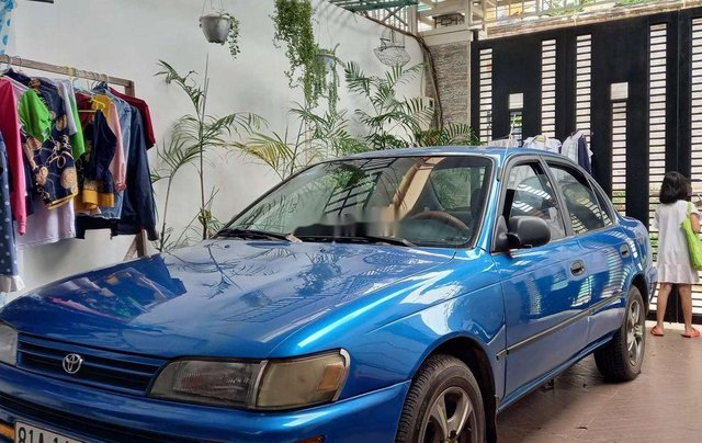 Bán Toyota Corolla đời 1995, màu xanh lam, xe nhập 0