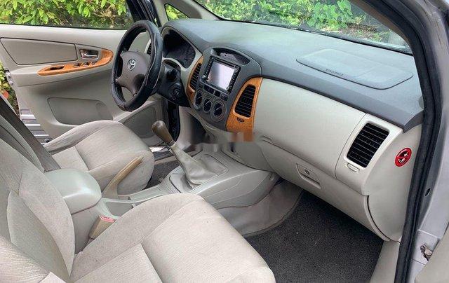 Bán Toyota Innova G 2009, màu bạc xe gia đình, 289tr3