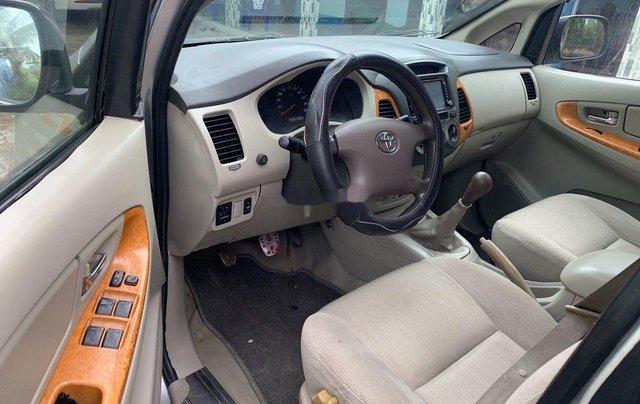 Bán Toyota Innova G 2009, màu bạc xe gia đình, 289tr6
