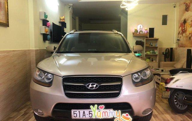 Bán ô tô Hyundai Santa Fe sản xuất năm 2008, màu bạc, nhập khẩu 0