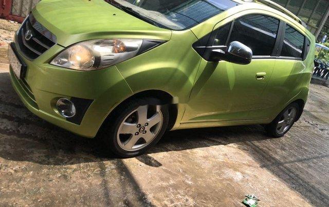 Bán Daewoo Matiz sản xuất năm 2011, xe nhập, màu xanh cốm2