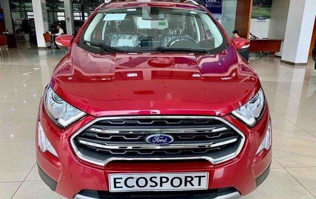 Bán ô tô Ford EcoSport 2020, màu đỏ, giá chỉ từ 616tr0