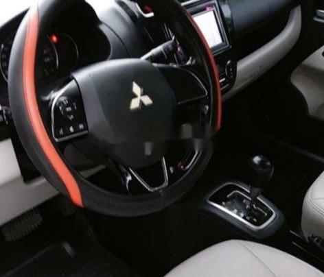 Bán xe Mitsubishi Attrage năm 2017, màu xám, 355tr1