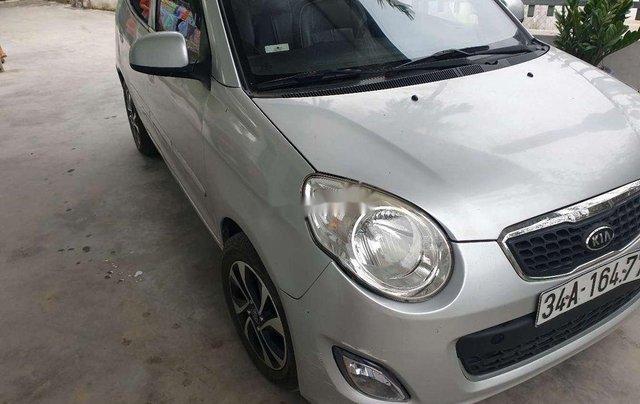 Cần bán Kia Morning sản xuất 2011, màu bạc, xe nhập 1