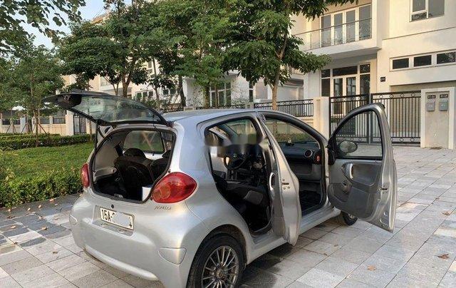 Bán Toyota Aygo sản xuất 2008, màu bạc, nhập khẩu nguyên chiếc, số sàn4