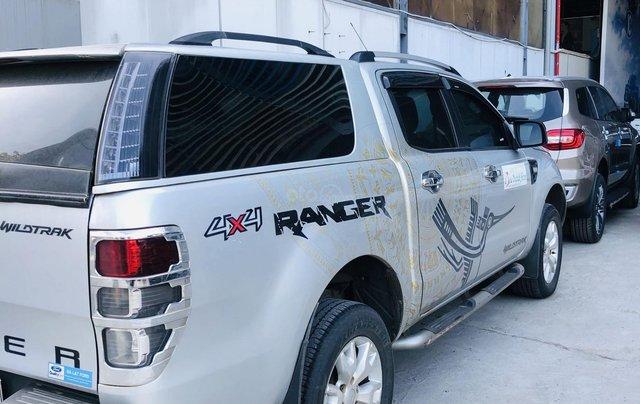 Cần bán xe Ford Ranger đời 2014, màu bạc, xe gia đình, giá 525 triệu đồng2