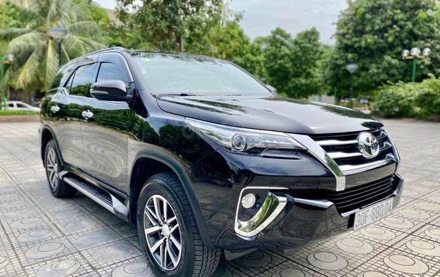 Hỗ trợ mua xe trả góp lãi suất thấp với chiếc Toyota Fortuner đời 2019, xe còn mới1