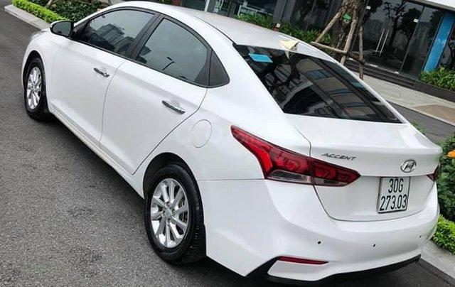 Bán xe giá thấp chiếc Hyundai Accent AT đời 2019, xe giá thấp, còn mới, động cơ ổn định1
