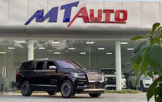 Bán xe Lincoln Navigator L Black Label sản xuất 2020, màu đen, nhập khẩu Mỹ0