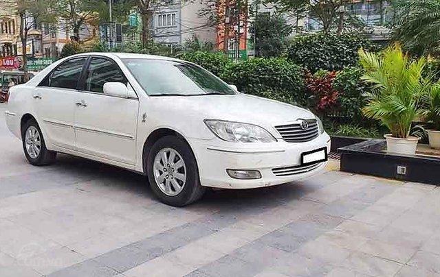 Bán Toyota Camry sản xuất năm 2003, màu trắng 0
