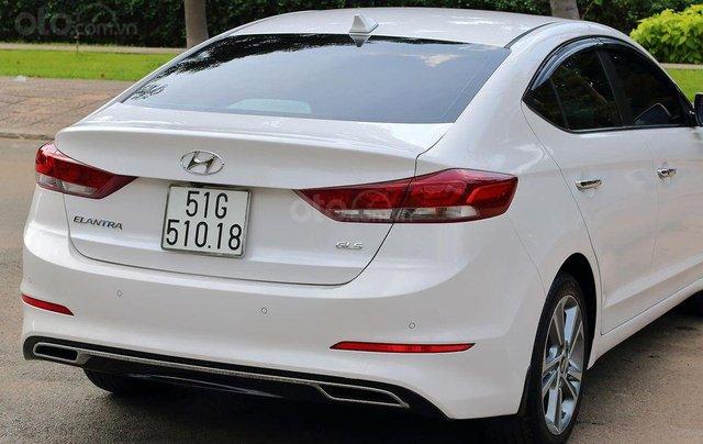 Bán xe Hyundai Elantra GLS 2.0L, màu trắng3