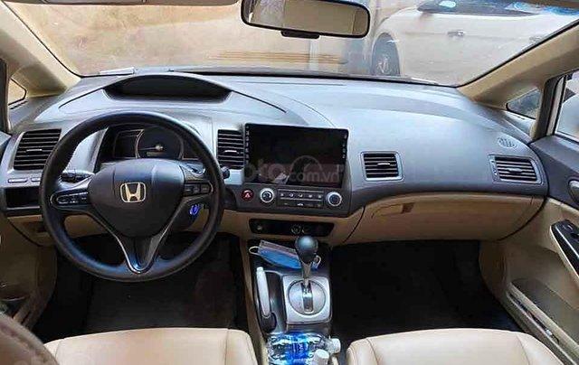 Cần bán gấp Honda Civic 1.8 L AT đời 2008, màu trắng  2