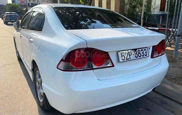 Cần bán gấp Honda Civic 1.8 L AT đời 2008, màu trắng  1