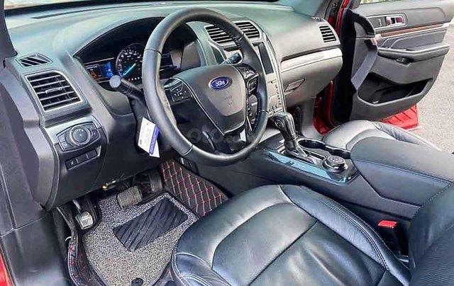 Bán ô tô Ford Explorer năm 2018, màu đỏ, nhập khẩu1