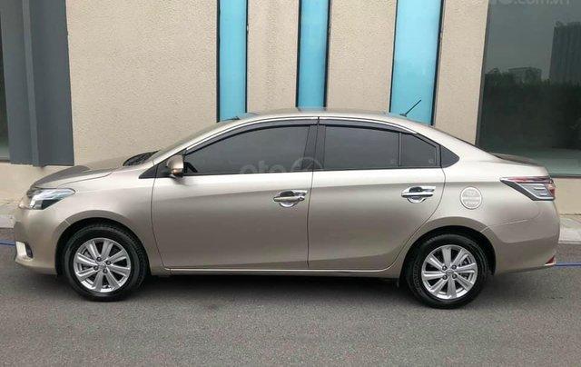 Cần bán Toyota Vios 2017 E tự động, màu cát3