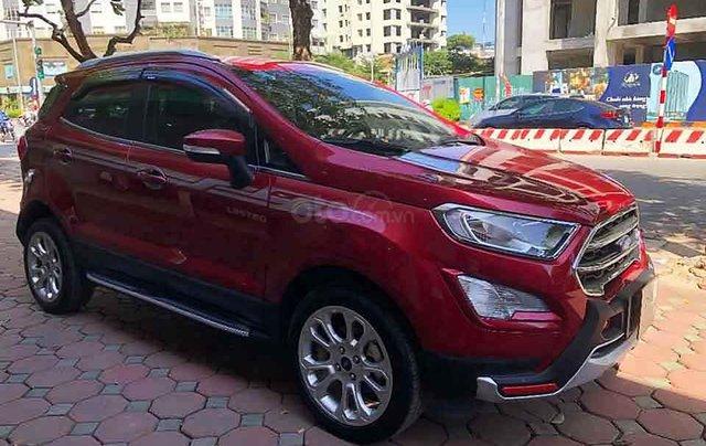 Cần bán xe Ford EcoSport 1.5 AT sản xuất 2019, màu đỏ0