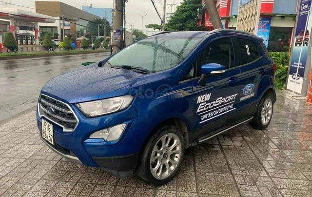 Ford Ecosport 1.5 Titanium sx 2018, màu xanh0