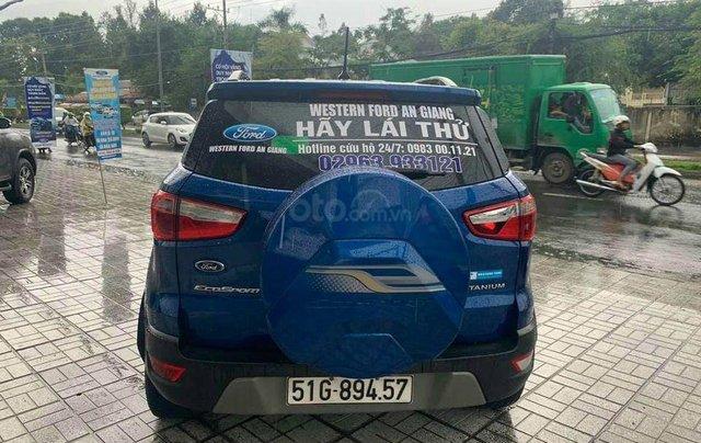 Ford Ecosport 1.5 Titanium sx 2018, màu xanh2