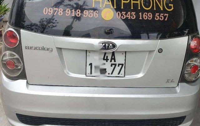 Cần bán Kia Morning sản xuất 2011, màu bạc, xe nhập 4