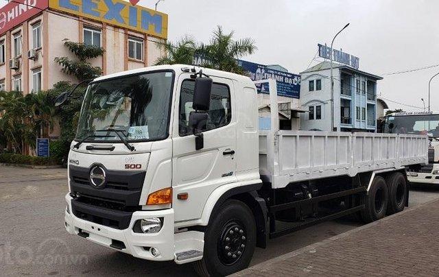 Xe tải Hino 15 tấn thùng lửng3