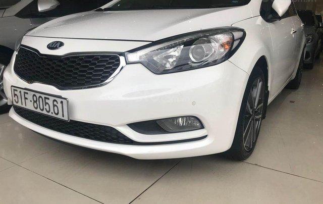 Kia K3 sản xuất 2016, màu trắng, có cửa sổ trời1
